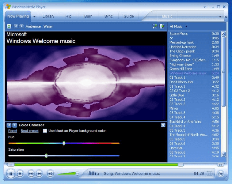 Changing the Title on Windows Media Player