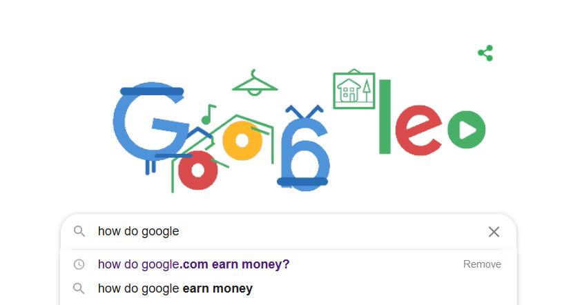 How do GOOGLE.COM earn money?