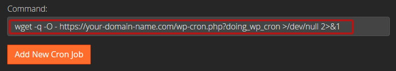 How to Disable wp-cron for Faster Performance - setting up cron using cron code file