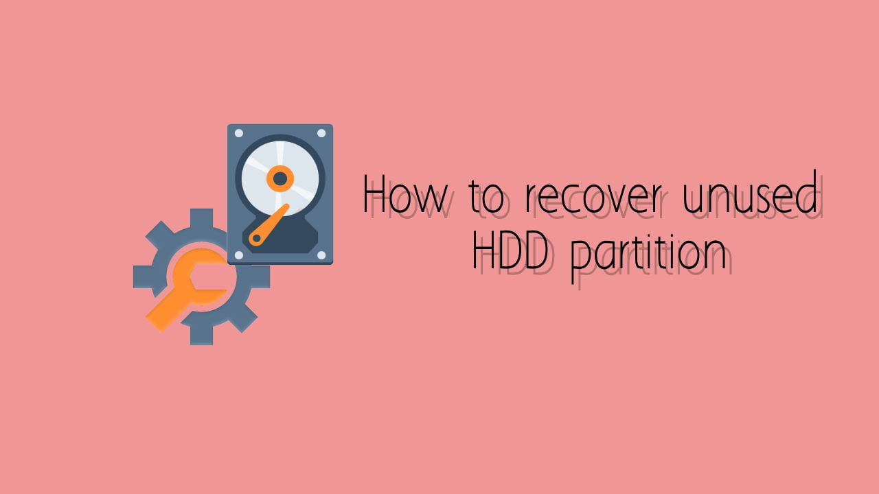 Recover system or reserved partition