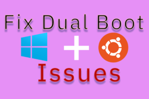 Best way to fix dual boot issues using Boot-Repair