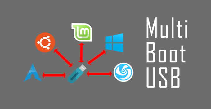 How to create a MultiBoot USB drive
