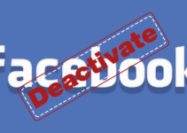 Disable or Deactivate your Facebook Account