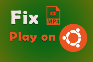 Unable to play MP4 file in Ubuntu 20.04