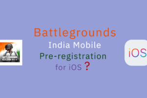 New Battlegrounds Mobile India Pre-Registration for iOS might not be required for good